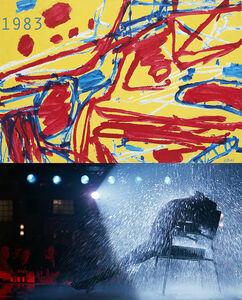 Bonnie Lautenberg, '1983, Flashdance - Dubuffet, Mire G 27 Kowloon', 2018