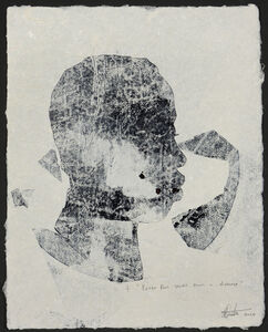 Thina Dube, 'Peter Pan stares from a distance', 2020