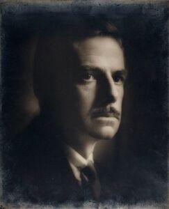 Emil Otto Hoppé, 'Portrait, Eugene O'Neill', 1925