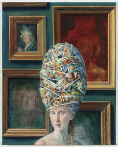 Julie Heffernan, 'Self-Portrait with Mary's, Josephine, and Antonia', 2018-2019