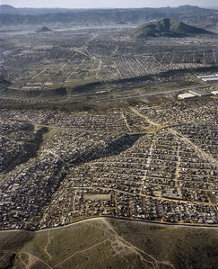 Pablo López Luz, 'San Diego County - Tijuana VII (Mexico-USA border)', 2015