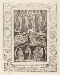 William Blake (1757-1827), 'The Creation', 1825
