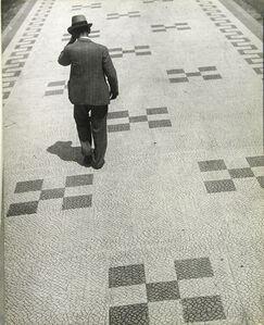 Martin Munkácsi, 'The Sidewalks of Rio de Janeiro, Brazil', ca. 1932