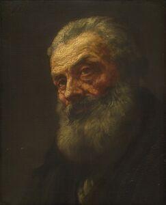 Alphonse Legros, 'Portrait of an Old Man'