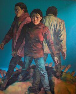 Su Xinping 苏新平, 'SEA OF DESIRE NO. 17', 1996
