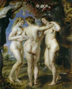 Peter Paul Rubens, 'The Three Grace', 1635