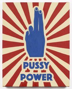 Alexandra Rubinstein, 'Pussy Power #2', 2015-2016