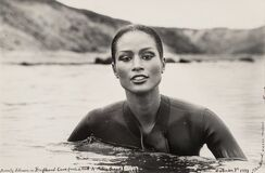 Beverly Johnson in Driftwood Cove, Montauk Point