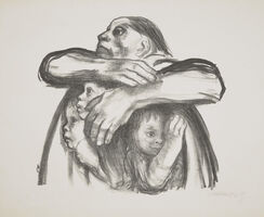 Käthe Kollwitz, 'Saatfrüchte sollen nicht vermahlen warden', 1941