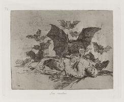 Francisco de Goya, 'Las resultas [The consequences], plate 72', 1813-1815