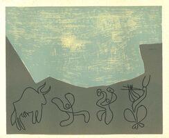 Pablo Picasso, 'Bacchanale', 1962
