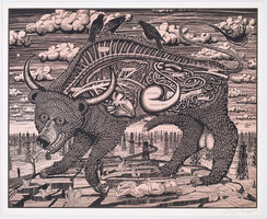 Grayson Perry, 'Animal Spirit (pink)', 2016