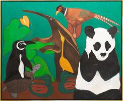 Hunt Slonem, 'Panda', 1980