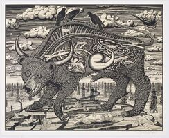 Grayson Perry, 'Animal Spirit (Yellow)', 2016