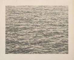 Vija Celmins, 'Ocean, from Untitled Portfolio', 1975