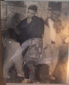 Dario Villalba, 'Dos en el Bronx', 1993