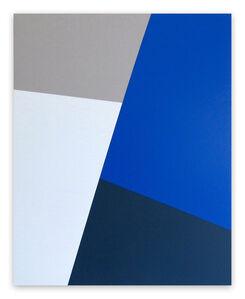 Daniel Göttin, 'Slopes B2 (Abstract painting)', 2016
