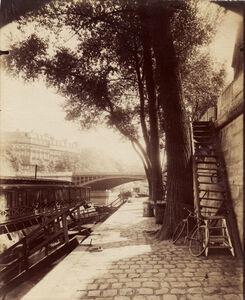 Eugène Atget, 'Quai d'Anjou, Paris', ca. 1909