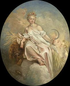 Jean-Antoine Watteau, 'Ceres (Summer)', ca. 1717/1718
