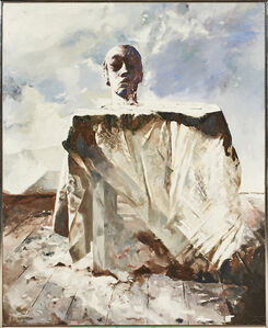 Balcomb Greene, 'Sculptor's Head', 1974