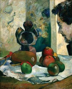 Paul Gauguin, 'Still Life with Profile of Laval', 1886