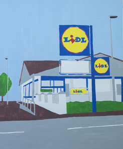 Ricardo Passaporte, 'LIDL store', 2018