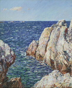 Childe Hassam, 'Rocks, Isle of Shoals', 1899-1901