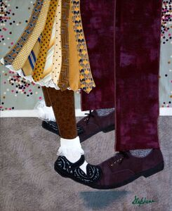 Phyllis Stephens, 'Tied to the Shoe-to-Shoe', 2018