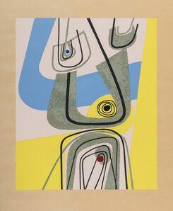 Enrico Prampolini, 'Abstract composition'