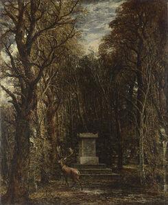 John Constable, 'Cenotaph to the Memory of Sir Joshua Reynolds', 1833-1836