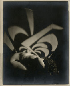 Ira Martin, 'Untitled (Nude with Design)', 1925-1930