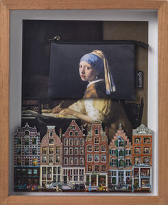 Elsa Zambrano, 'Girl with the Pearl Earring in Holland', 2019