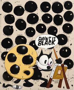 Riiko Sakkinen, 'Paint It Black', 2020