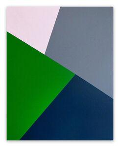Daniel Göttin, 'Slopes B8 (Abstract painting)', 2016