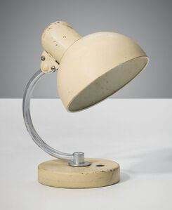 Christian Dell, 'An adjustable table lamp', 1940s