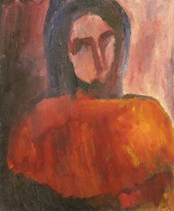 David Bomberg, 'Dinora', 1953