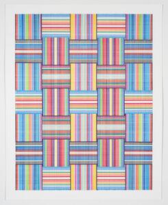 Carly Glovinski, 'Leisure Weave 19', 2017