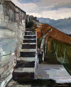 Gerard Mortier, 'L'escalier Lavaux', 2019