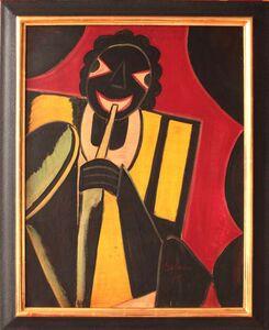 """Hugó Scheiber, '""""Jazz Musician"""" by Hugó Scheiber', 1930"""