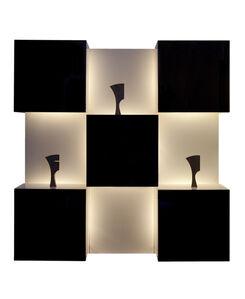 Roberto Monsani, 'Luminous Wall-Mounted Cabinet', 1970