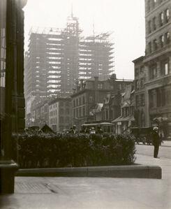 Alfred Stieglitz, 'Old and New New York', 1910