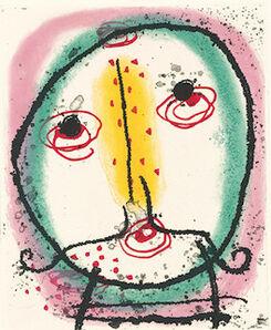 Joan Miró, 'Suite La Bague D'Aurore - plate 15', 1957