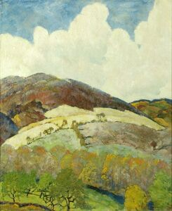 Ross Braught, 'Far Hills', ca. 1928
