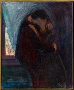 Edvard Munch, 'Kyss (Kiss)', 1897