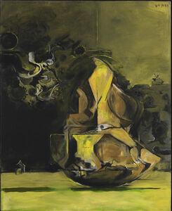 Graham Sutherland, 'Rock form against woods', 1973