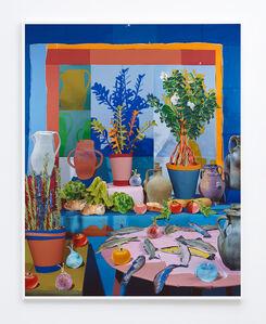Daniel Gordon, 'Lettuces and Trout', 2016