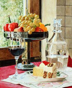 Ingeborg Haeberle, 'Wine & Cheese II ', 2017