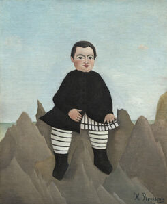 Henri Rousseau, 'Boy on the Rocks', 1895/1897