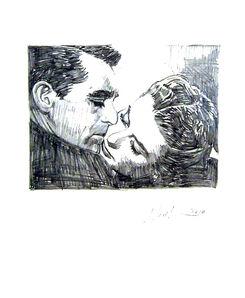 Jonathan Santlofer, 'Cary and Ingrid', 2010