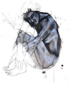 Laurent Bergues, 'Sculpture sur tache 10', 2019